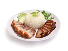 Broadway - Roasted pork and Char Siew Rice